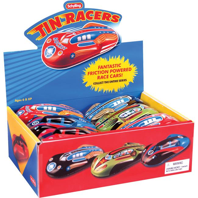 Tin Friction Cars